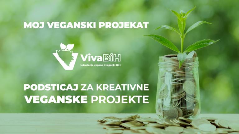 Moj veganski projekat – prilika da realizujete svoje ideje