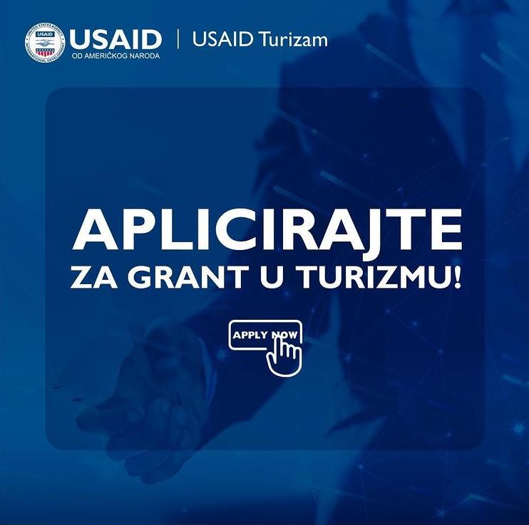 USAID Turizam – Javni pozivi za dodjelu grantova